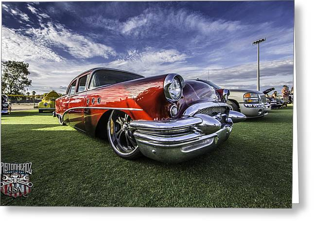 Slam Greeting Cards - 55 Buick Special Greeting Card by Craig Rusboldt