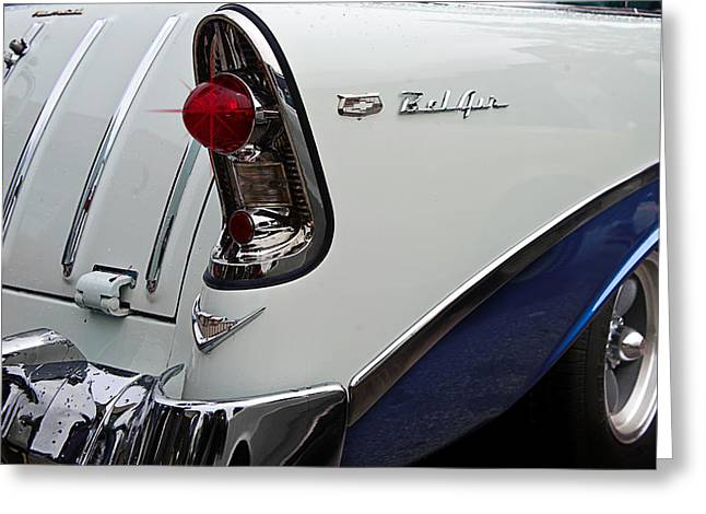 Ford Model T Car Greeting Cards - 56 Chevrolet Nomad Greeting Card by Jim  Hatch