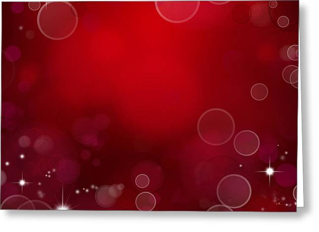 Twinkle Greeting Cards - Abstract background Greeting Card by Les Cunliffe