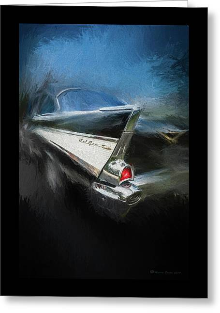 57' Belair Greeting Card by Marvin Spates