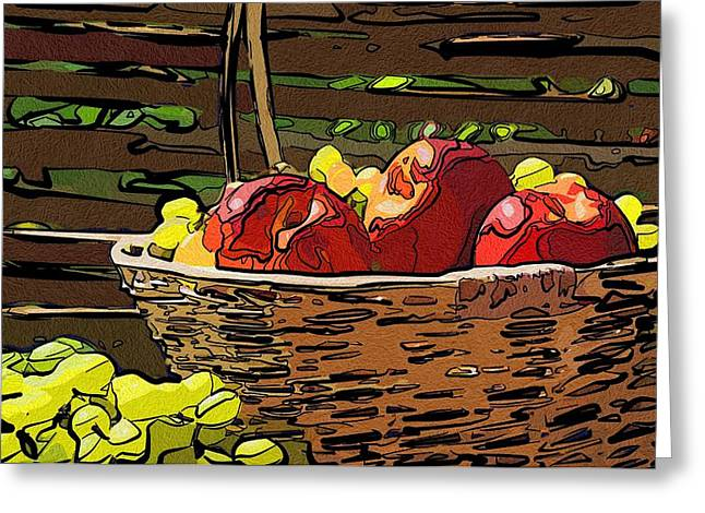 Local Food Digital Greeting Cards - For Food Connoisseur Greeting Card by Michael Vicin