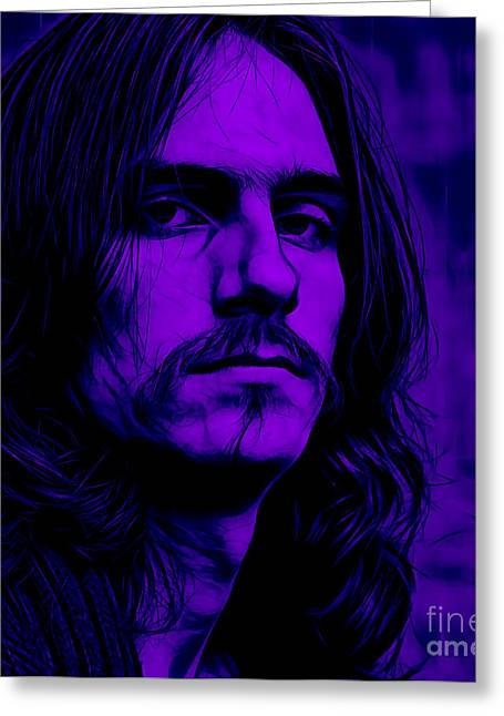 James Greeting Cards - James Taylor Collection Greeting Card by Marvin Blaine