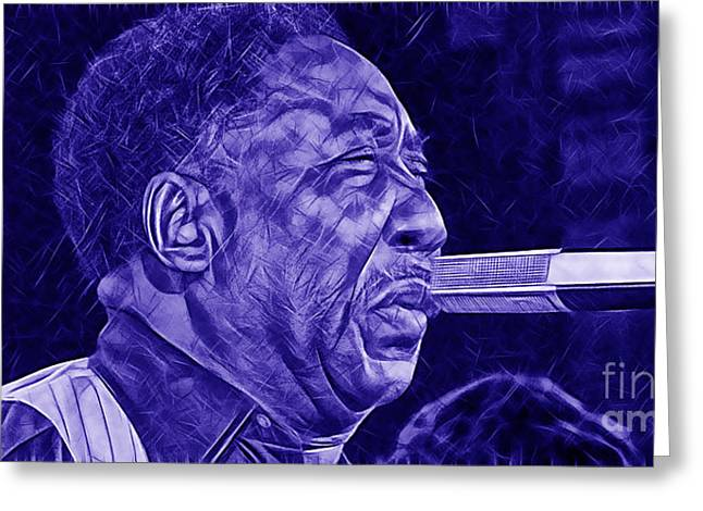 Muddy Waters Greeting Cards - Muddy Waters Collection Greeting Card by Marvin Blaine