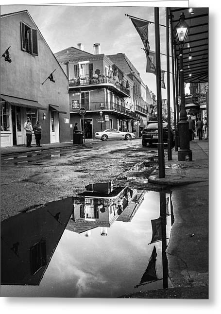 Ncis Greeting Cards - New Orleans French Quarter Greeting Card by Bourne Images