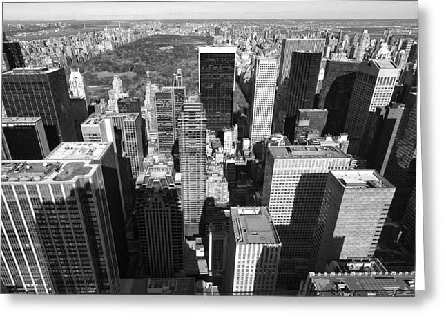 New York Greeting Card by Marcio Silva