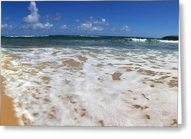 Hyatt Hotel Greeting Cards - Poipu Beach Kauai Greeting Card by Steven Lapkin