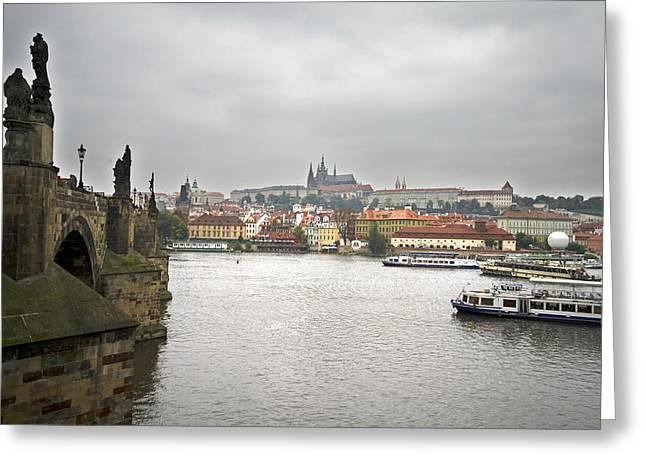Czechia Greeting Cards - Prague Greeting Card by Chris Smith