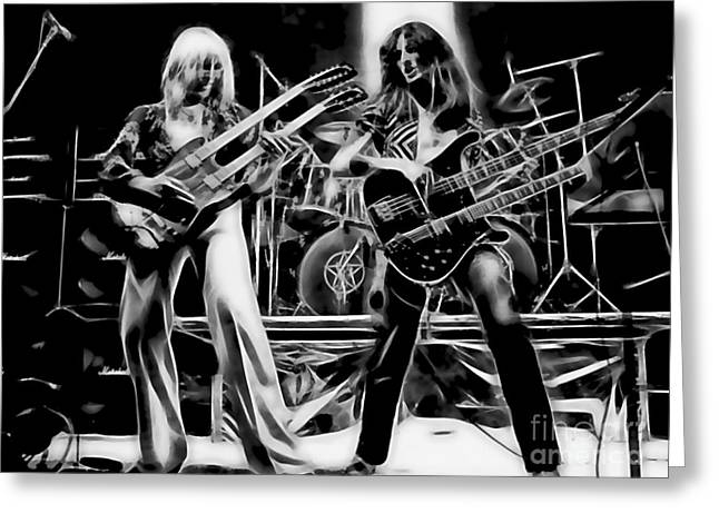Cool Art Greeting Cards - Rush Collection Greeting Card by Marvin Blaine