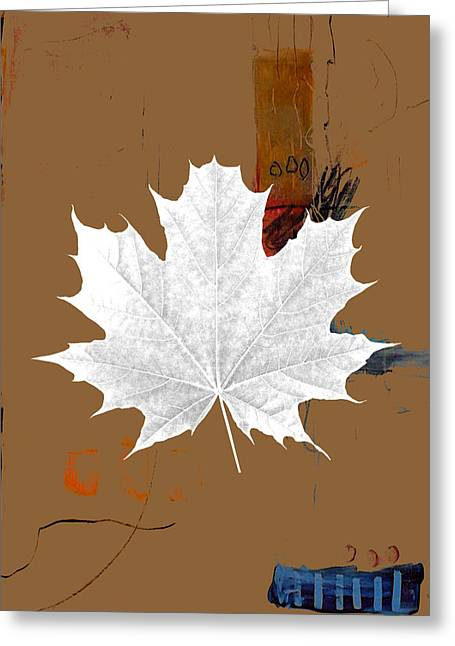 Tree Leaves Art Greeting Card by Marvin Blaine