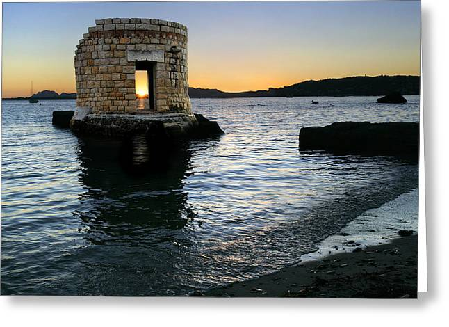 Antibes Greeting Cards - Untitled Greeting Card by Simon Kayne