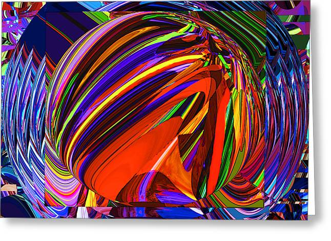 Abstract Movement Greeting Cards - 62 Spin Greeting Card by Phillip Mossbarger
