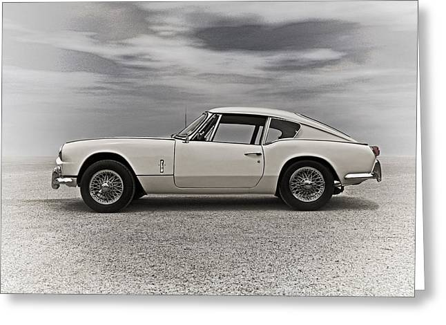 European Greeting Cards - 67 Triumph GT6 Greeting Card by Douglas Pittman