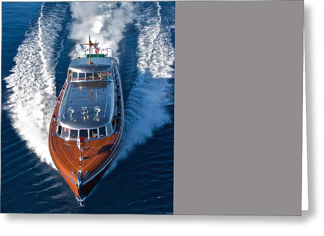 Portofino Italy Greeting Cards - Thunderbird Greeting Card by Steven Lapkin