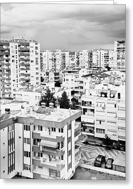 Historic Home Greeting Cards - Antalya buildings  Greeting Card by Tom Gowanlock
