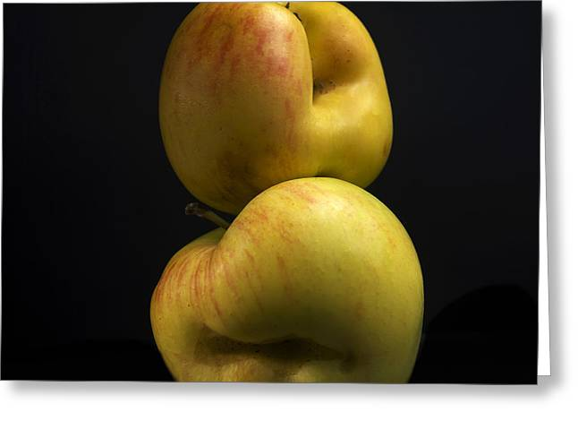Calories Greeting Cards - Apples Greeting Card by Bernard Jaubert