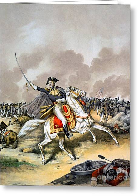 Redcoats Greeting Cards - Battle Of New Orleans Greeting Card by Granger