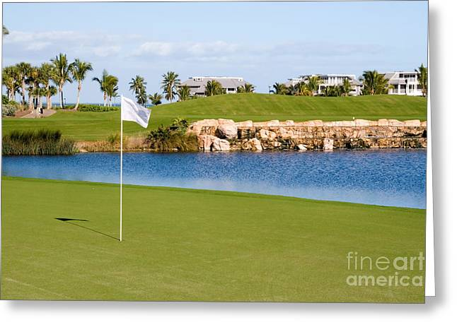 Elite Image Photography By Chad Mcdermott Greeting Cards - Florida Gold Coast Resort Golf Course Greeting Card by ELITE IMAGE photography By Chad McDermott
