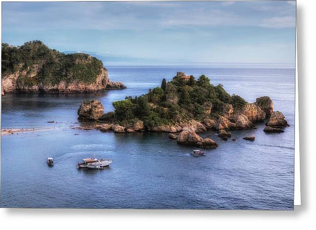 Isola Bella - Sicily Greeting Card by Joana Kruse