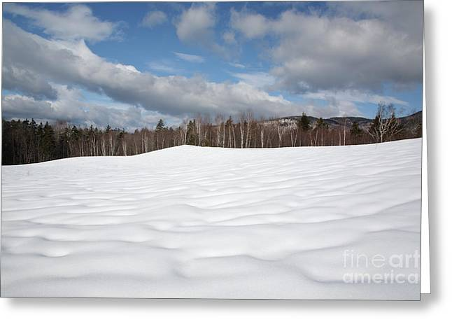 Rural Snow Scenes Greeting Cards - Kancamagus Highway - White Mountains New Hampshire USA Greeting Card by Erin Paul Donovan