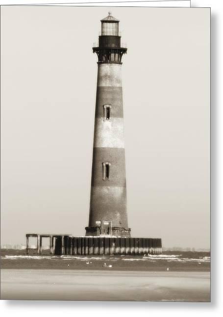 Morris Island Lighthouse  Greeting Card by Dustin K Ryan