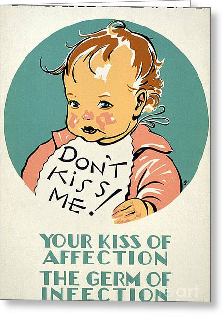 New Deal: Wpa Poster Greeting Card by Granger