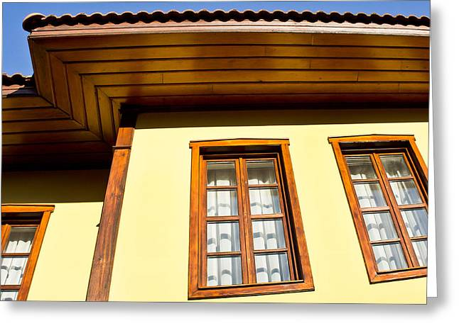 Restored Home Greeting Cards - Ottoman house Greeting Card by Tom Gowanlock
