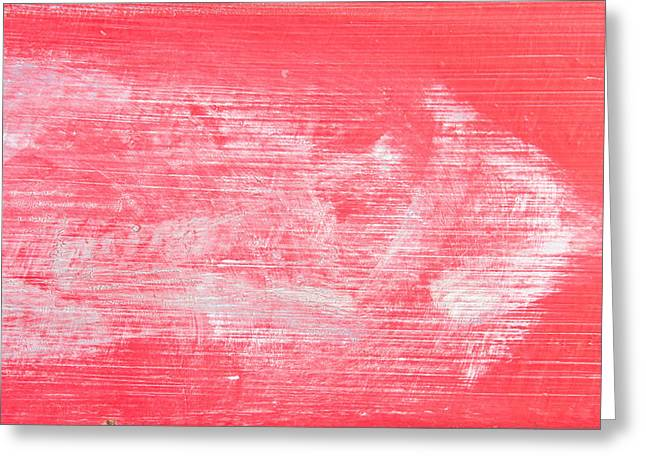 Scruffy Greeting Cards - Red wood Greeting Card by Tom Gowanlock