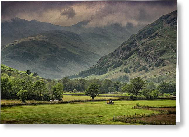 The Lake District  Greeting Card by Martin Newman