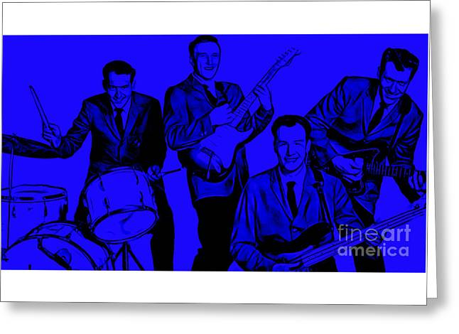 The Ventures Collection Greeting Card by Marvin Blaine