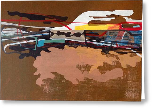 Untitled. Greeting Card by Jim Harris