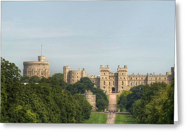D5000 Greeting Cards - Windsor Castle Greeting Card by Chris Day