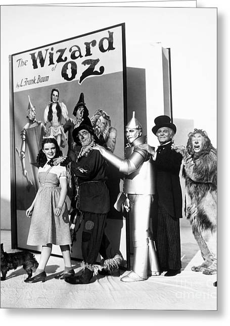 Wizard Greeting Cards - Wizard Of Oz, 1939 Greeting Card by Granger