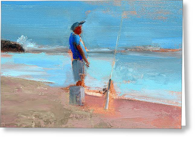East Coast Greeting Cards - RCNpaintings.com Greeting Card by Chris N Rohrbach
