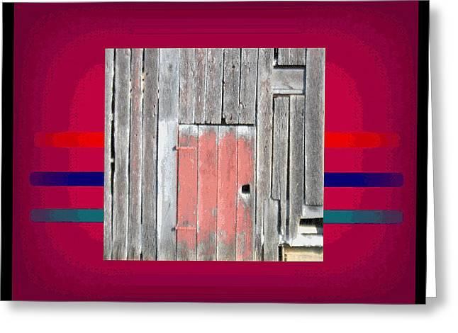 Barn In Woods Photographs Greeting Cards - Digital Artistry Greeting Card by Stephen Proper Gredler
