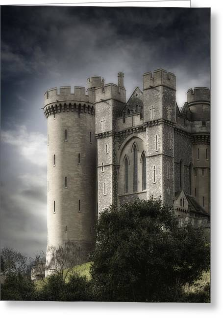 Manor Greeting Cards - Castle Greeting Card by Joana Kruse