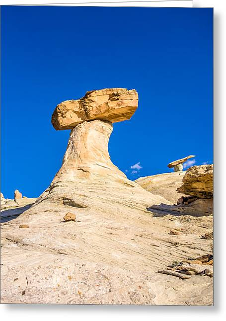 Hdr Landscape Greeting Cards - Hoodoos At Stud Horse Point In Arizona Greeting Card by Alexandr Grichenko