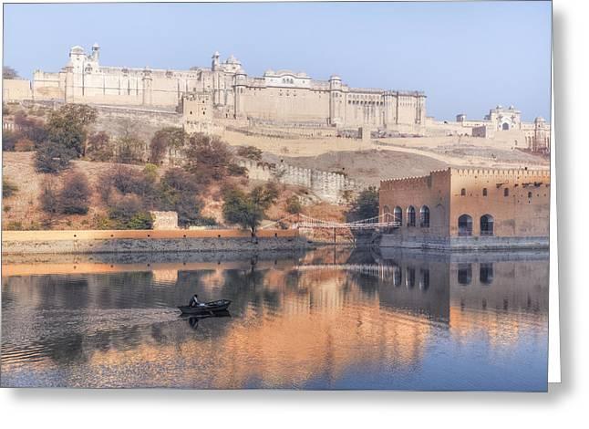 Jaipur - India Greeting Card by Joana Kruse