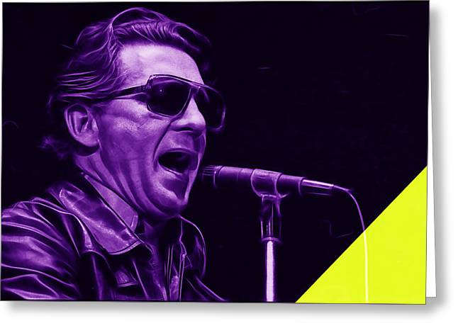 And Jerry Lee Lewis Greeting Cards - Jerry Lee Lewis Collection Greeting Card by Marvin Blaine