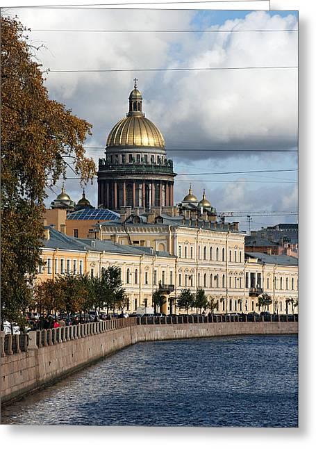 St. Petersburg Greeting Card by Masha Batkova