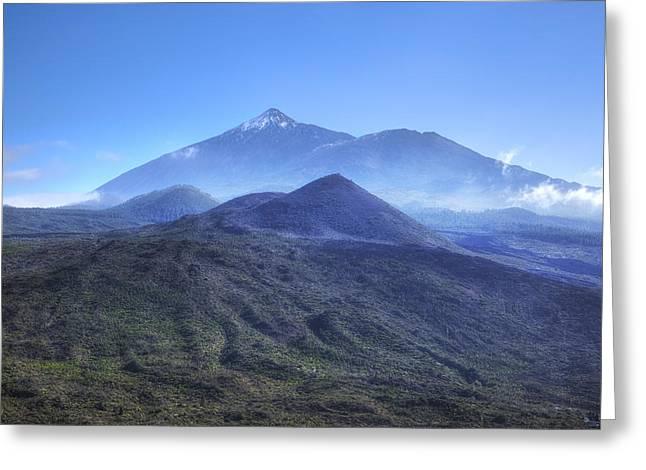 Tenerife - Mount Teide Greeting Card by Joana Kruse
