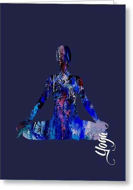 Spiritual Greeting Cards - Yoga Collection Greeting Card by Marvin Blaine