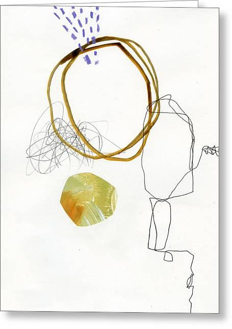 Drawing Greeting Cards - 87/100 Greeting Card by Jane Davies