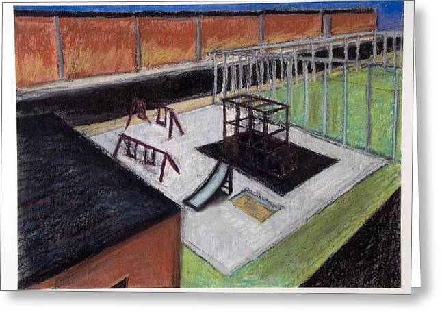 Height Pastels Greeting Cards - 89th Street    Greeting Card by Craig Barrack