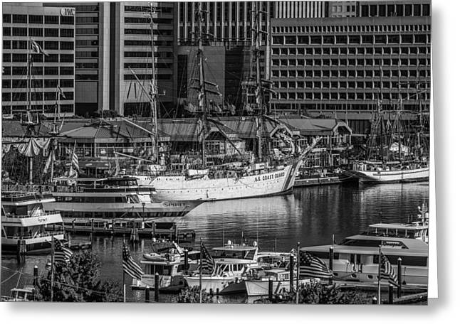 Baltimore Inner Harbor Greeting Card by Jim Archer