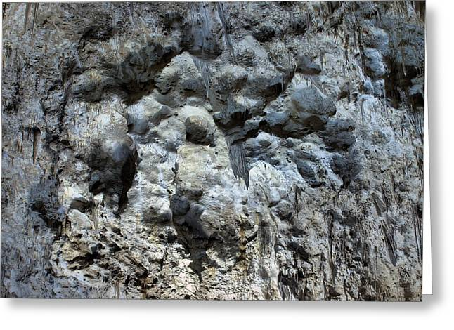 Cavern Greeting Cards - Carlsbad Caverns Detail Greeting Card by Stephen  Vecchiotti