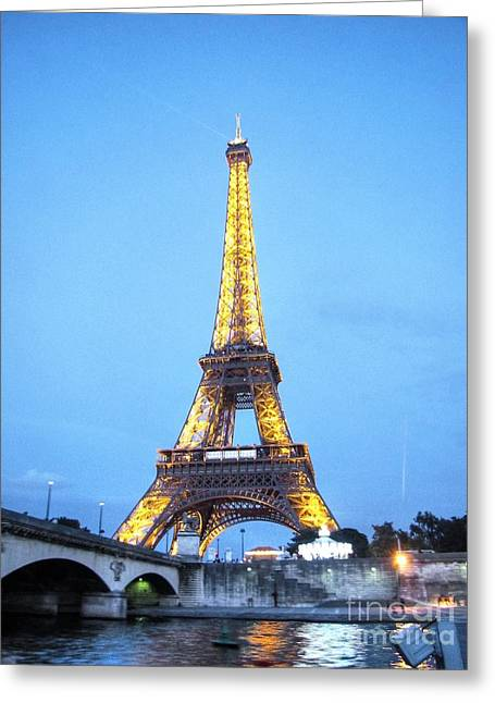 People Pyrography Greeting Cards - Paris  Greeting Card by Yury Bashkin
