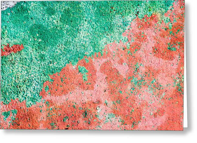 Stone Background Greeting Card by Tom Gowanlock
