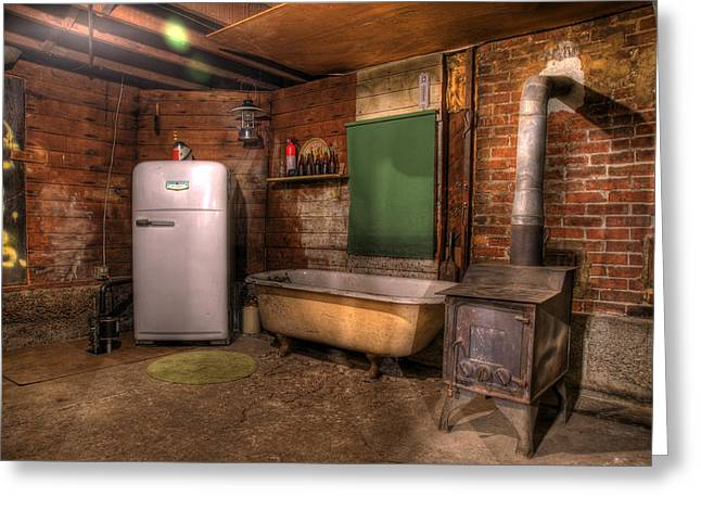 Basement Greeting Cards - West End Basement Brewing Greeting Card by Jason Evans