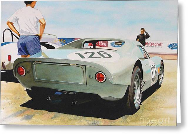 Automobilia Greeting Cards - 904 Greeting Card by Robert Hooper