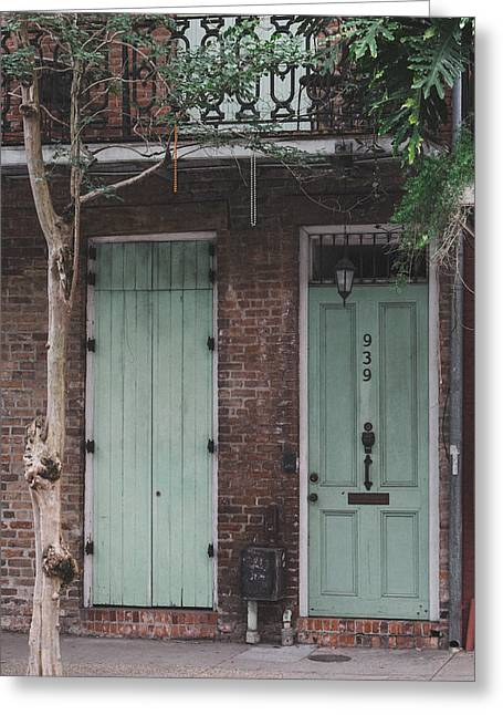 French Doors Greeting Cards - 939 Greeting Card by Beth Anthony